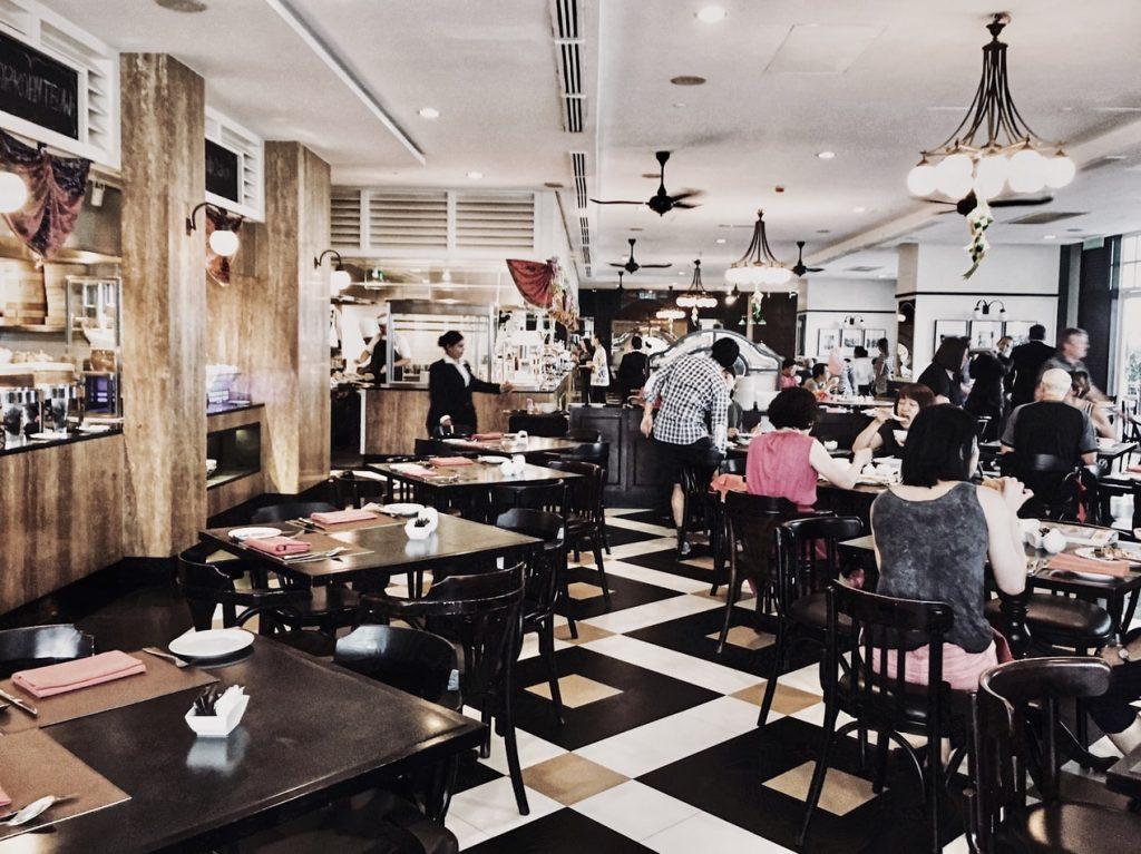 Exemple de restaurant d'entreprise